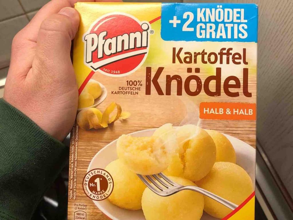 Kartoffel Kcal pfanni kartoffel knö der klassiker halb halb kalorien