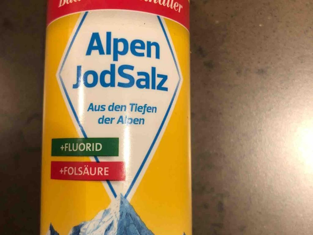 Alpen Jodsalz, + Fluorid von SophieTS   Hochgeladen von: SophieTS