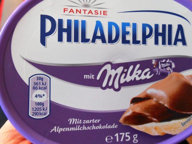 Philadelphia mit Milka   Hochgeladen von: Highspeedy03
