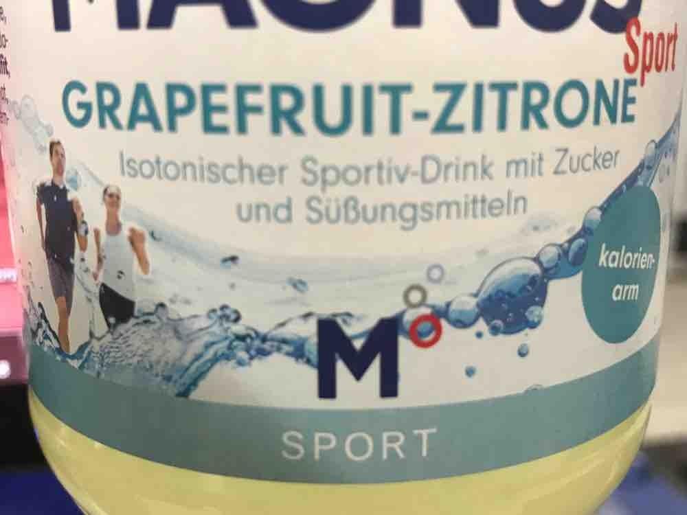 Magnus Sport, Grapefruit-Zitrone von DennisHamburg | Hochgeladen von: DennisHamburg