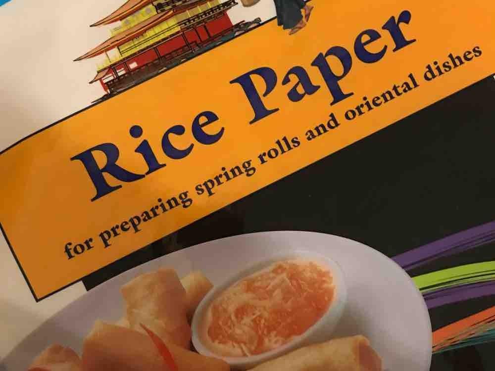 Rice Paper von Kaddy13   Hochgeladen von: Kaddy13