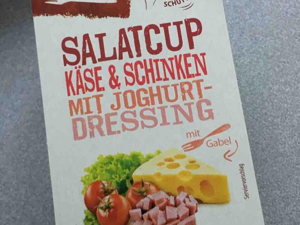 Aldi Süd Salat Cup Käse Und Schinken Mit Joghurtdressing Kalorien