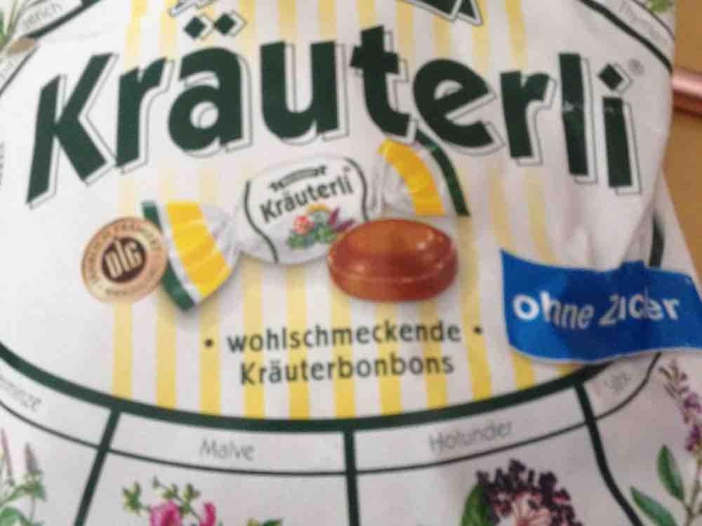 Kräuterli Kräuterbonbon ohne Zucker, Kräuter von Tunicca   Hochgeladen von: Tunicca