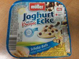 Joghurt mit der Ecke, Schoko Balls Vanille | Hochgeladen von: Sven179