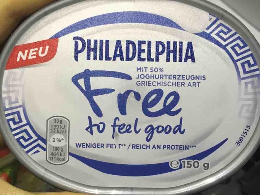 Free to feel good, Frischkäse mit 50% Joghurt von alexandra.habermeier   Hochgeladen von: alexandra.habermeier