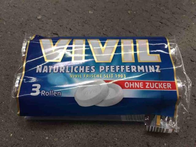 Vivil Natürliches Pfefferminz ohne Zucker, Pfefferminz von SebVonRheinbach | Hochgeladen von: SebVonRheinbach