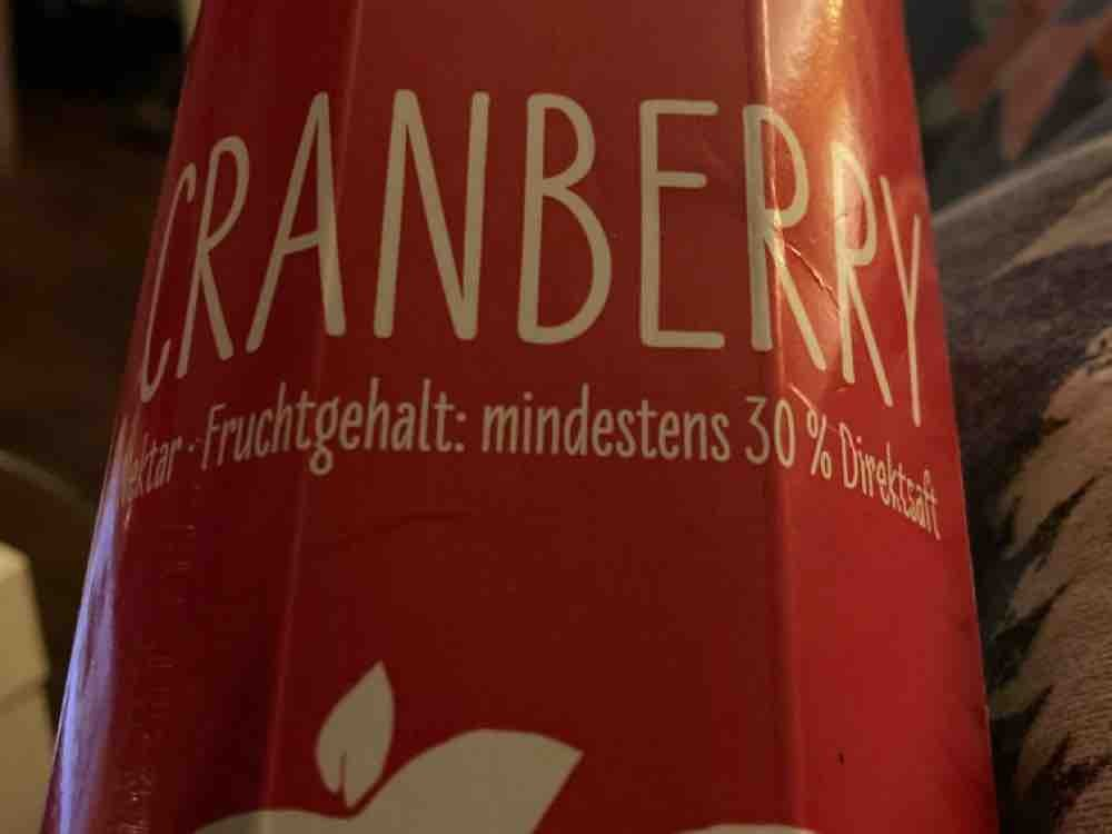 Cranberry Nektar, 30% Direktsaft von marsidarsi | Hochgeladen von: marsidarsi