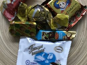russisches Konfekt, Monopraline, Schokolade | Hochgeladen von: LutzR