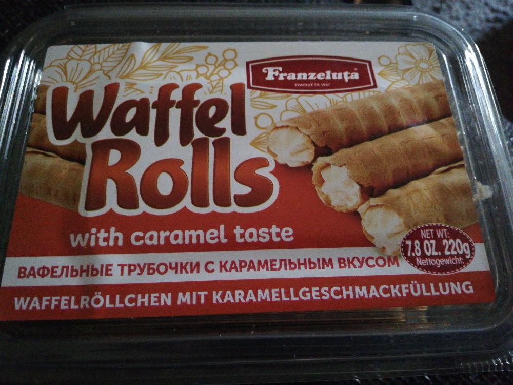 Waffel Rolls, Mit Karamellfüllung von AboutStefanie   Hochgeladen von: AboutStefanie