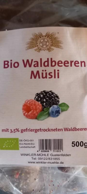 Bio Waldbeeren Müsli von cmdsniggles   Hochgeladen von: cmdsniggles
