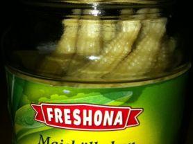 Maiskölbchen, im Glas   Hochgeladen von: bjger