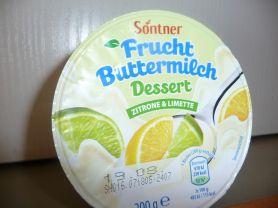 Fruchtbuttermilch Dessert, Zitrone&Limette | Hochgeladen von: GrandLady