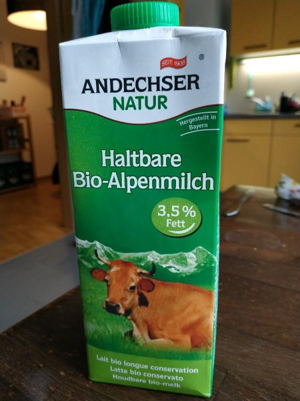 Haltbare Bio-Alpenmilch von Schuerfi   Hochgeladen von: Schuerfi