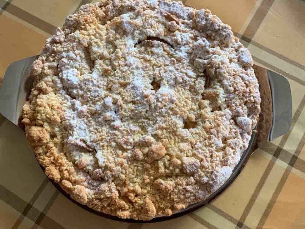 Butterstreuselkuchen mit Äpfeln von georg55 | Hochgeladen von: georg55