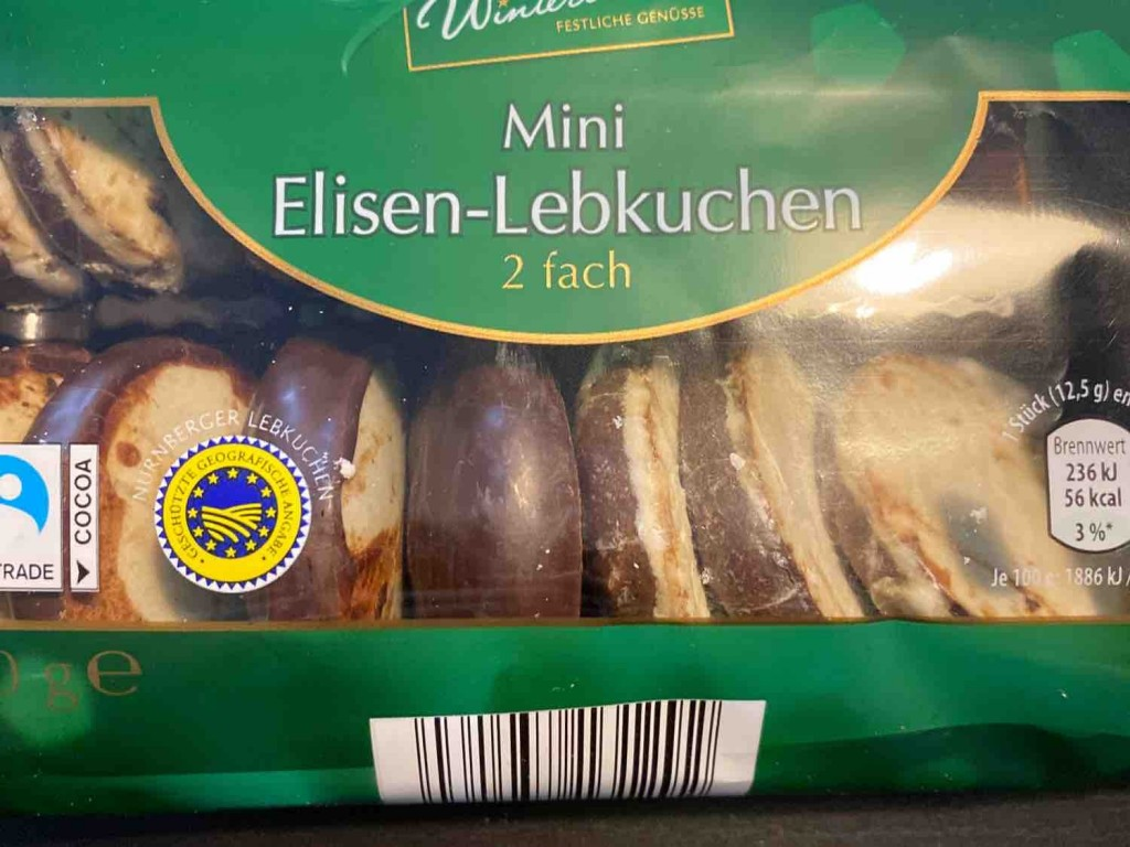 Mini Elisen-Lebkuchen, 2-fach von sigma9891 | Hochgeladen von: sigma9891
