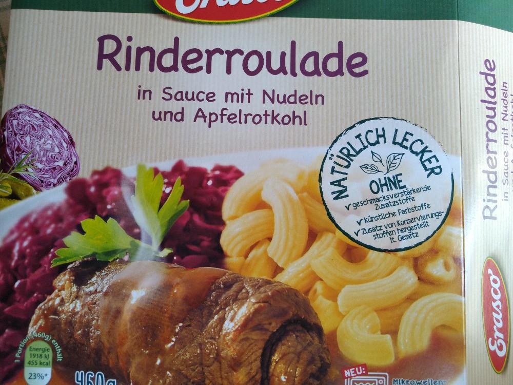 Rinderroulade, in Sauce mit Nudeln und Apfelrotkohl von Schakaline | Hochgeladen von: Schakaline