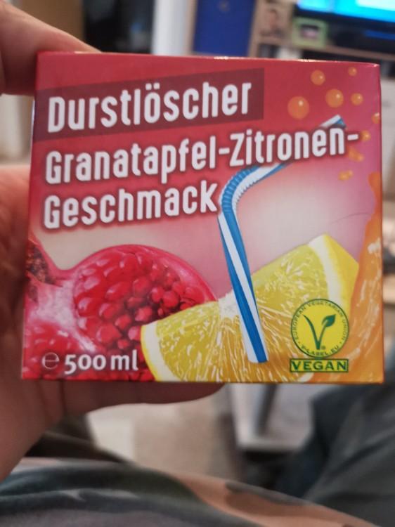 Durstlöscher Granatapfel/Zitrone von Frankmsv   Hochgeladen von: Frankmsv