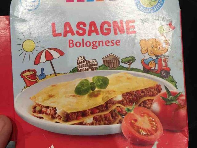 HIPP Lasagne Bolognese, Deftig von yvonnema | Hochgeladen von: yvonnema