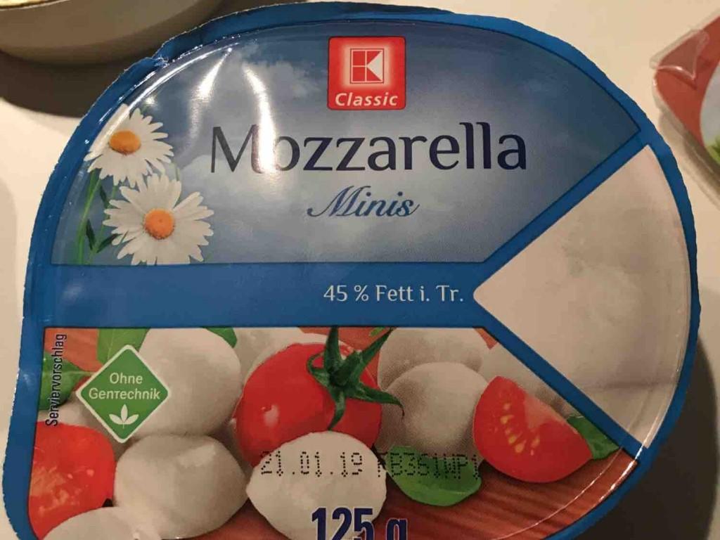 Mozzarella Minis Classic, 45 % Fett i. Tr. von heikomoo | Hochgeladen von: heikomoo