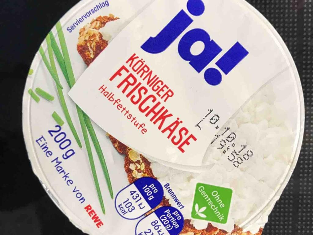 Ja! Körniger Frischkäse, Halbfettstufe von Jilsandersun | Hochgeladen von: Jilsandersun