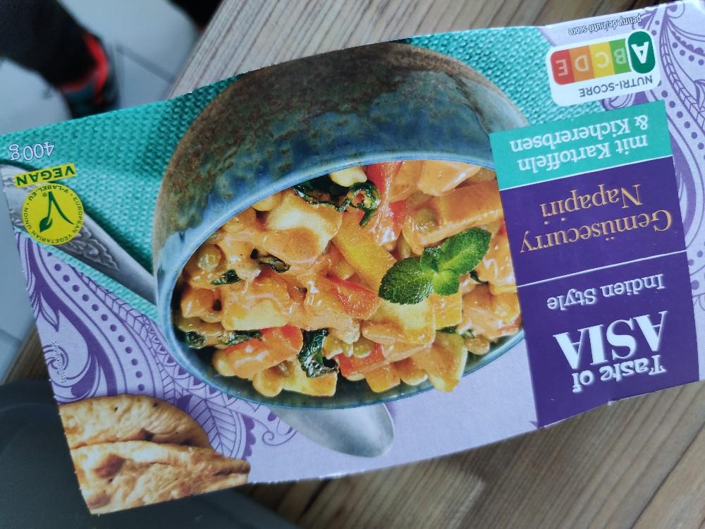 Gemüsecurry Napariri, Mit Kartoffeln und Kichererbsen von giannisrudka659 | Hochgeladen von: giannisrudka659