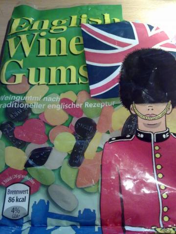 English Wine Gums - Weingummi nach traditionelle | Hochgeladen von: Barockengel