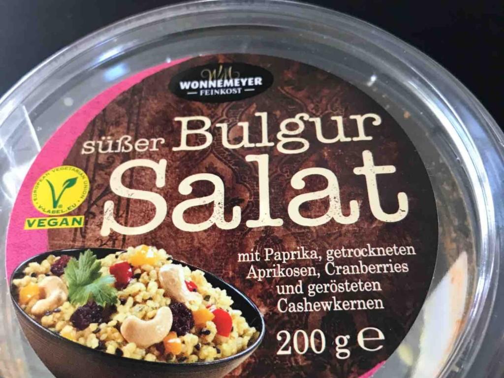 Süßer Bulgur Salat  von carmueller | Hochgeladen von: carmueller