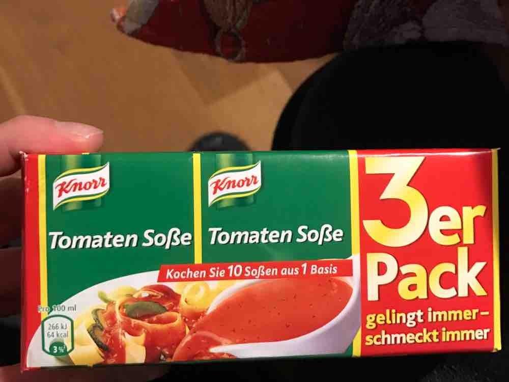 Tomaten-Soße (Knorr) von MaxFitnessAss | Hochgeladen von: MaxFitnessAss