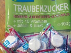 Traubenzucker mit 10 Vitaminen, Himbeer-&Heidelbeergesch   Hochgeladen von: lgnt