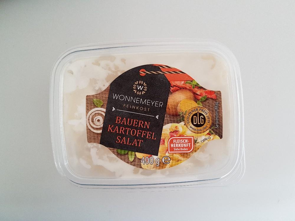 Bauern Kartoffelsalat, mit geräuchertem Speck von kwinki78 | Hochgeladen von: kwinki78