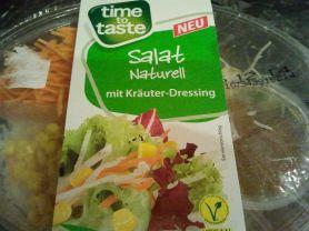 Salat Naturell, mit Kräuter-Dressing | Hochgeladen von: huhn2