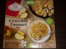 Crumble-Desert Apfel   Hochgeladen von: Michael175