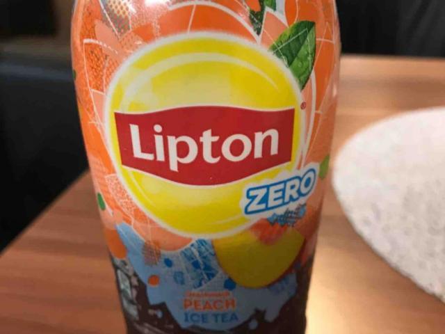 Lipton Zero Peach Ice Tea von mcbri   Hochgeladen von: mcbri