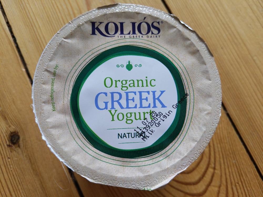 Organic Greek Yogurt, Natural von strider   Hochgeladen von: strider