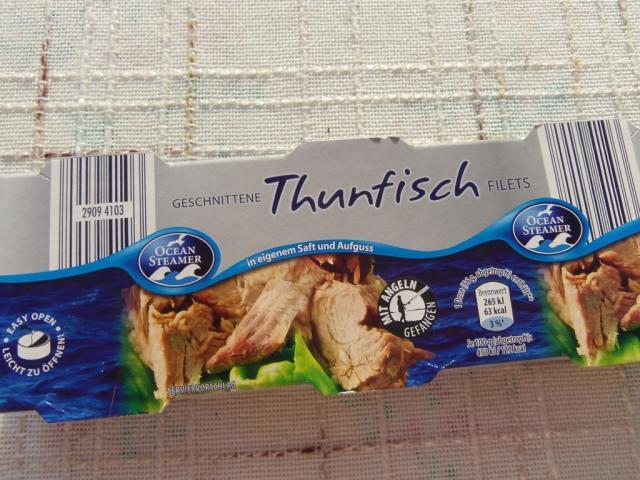 Ocean Steamer - Thunfisch Filets im eigenen Saft | Hochgeladen von: Claudia berlin