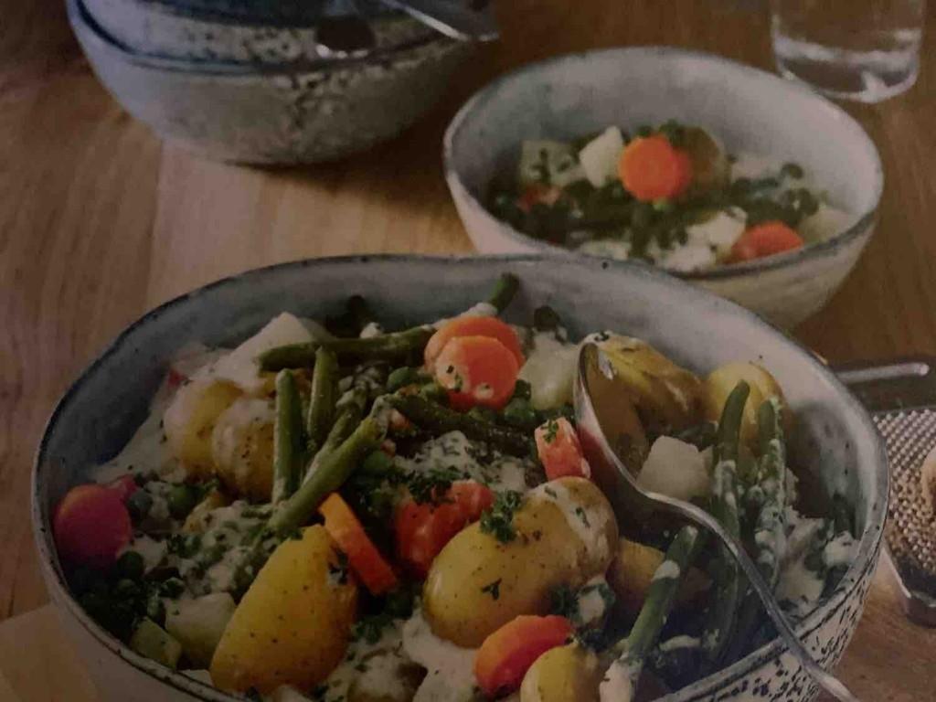 Gemüse-Rahmtopf, nach Art des norddeutschen Schnüsch von schirki   Hochgeladen von: schirki