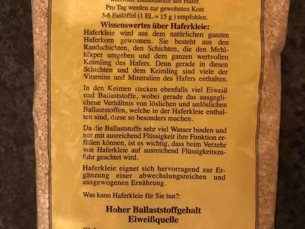 Haferkleie von kiki1979   Hochgeladen von: kiki1979