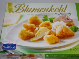 Blumenkohl, in Backteig   Hochgeladen von: Chivana