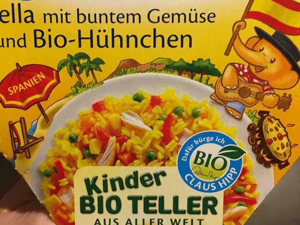 Paella mit buntem Gemüse , und Bio-Hühnchen von yvonnema   Hochgeladen von: yvonnema