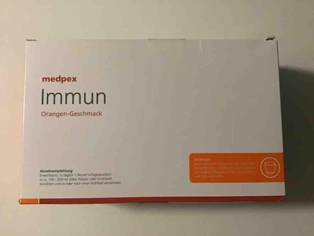 Immun Nahrungsergänzungsmittel, Orange von joachimseide   Hochgeladen von: joachimseide