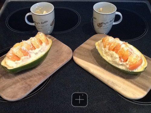 Papaya-Mandarinen-Quark | Hochgeladen von: dergoetz
