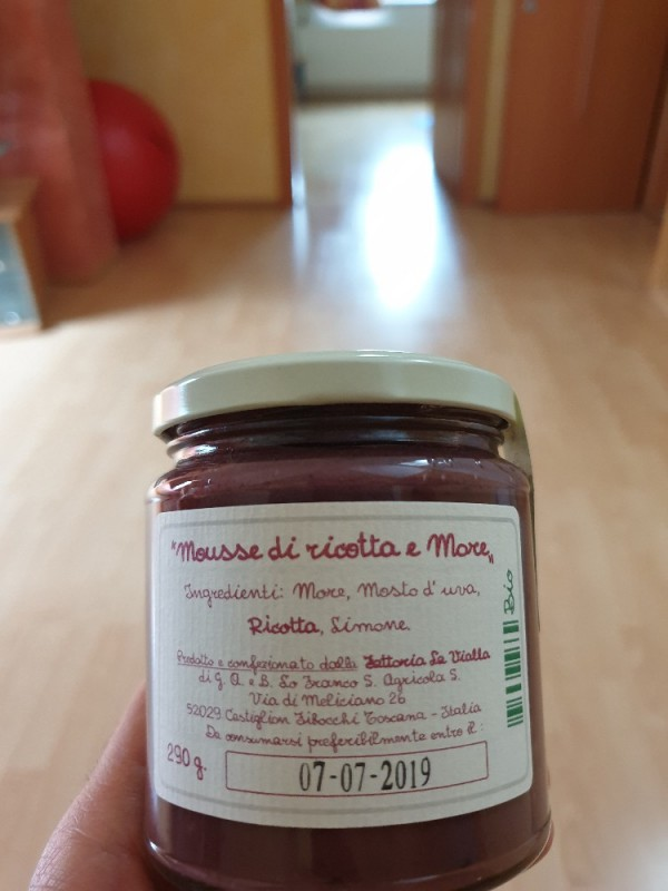 Mousse di ricotta e moce, Ricotta-Creme mit Brombeeren von patrickkumanovi786 | Hochgeladen von: patrickkumanovi786
