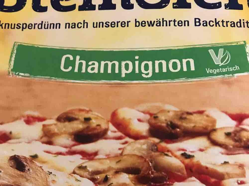 Steinofen Pizza, Champignon von Pamina   Hochgeladen von: Pamina