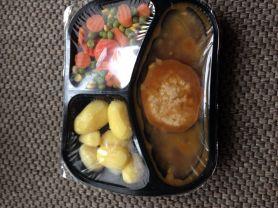 Lecker Mahlzeit, Frikadelle vom Schwein mit Gemüse und Karto | Hochgeladen von: kovi