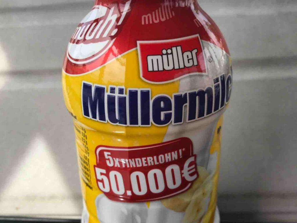 Müller, Müllermilch, Banane Kalorien - Milchgetränke - Fddb