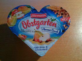 Obstgarten Herzens Snack, Apfel-Birne & Schokomüsli | Hochgeladen von: Richmand
