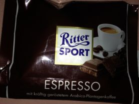 Ritter Sport, Espresso   Hochgeladen von: Jule0