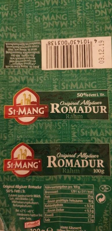 Romadur 50% Fett von teacup22   Hochgeladen von: teacup22