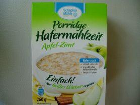 Porridge Hafermahlzeit, Apfel-Zimt   Hochgeladen von: Juvel5