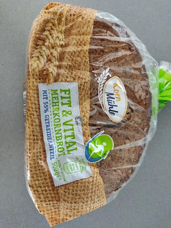 Fit & Vital Mehrkornbrot, würziges Brot von OooMAXooO | Hochgeladen von: OooMAXooO